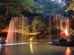 鍋ヶ滝ライトアップ