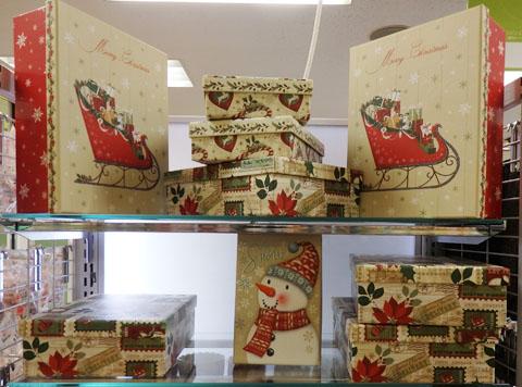 ダイソー クリスマス 箱