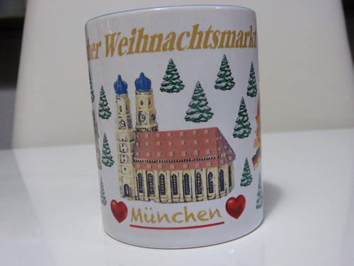ドイツクリスマスマーケット 大阪 マグカップ