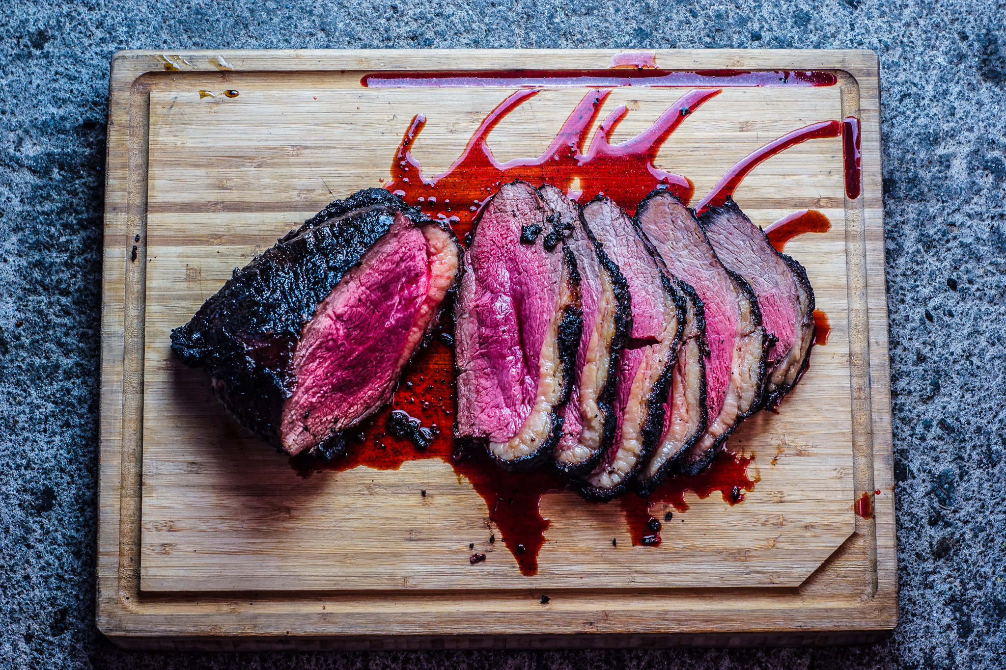 Smoky Charcoal-grilled Beef Rump (+Others!)