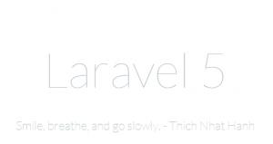 cài đặt laravel 5