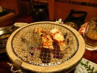 タラバ 炭火焼き