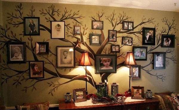 Фотоколлаж - древо жизни