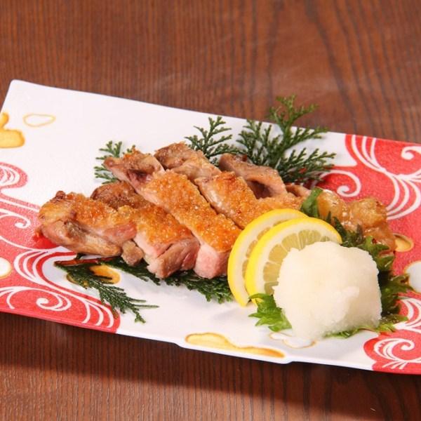地鶏ピヨの炙り焼き