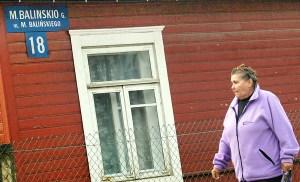 Od kilku miesięcy mieszkańcy Jaszun są intensywnie szczuci przez litewskie media i polityków za polskie nazwy ulic Fot. Marian Paluszkiewicz