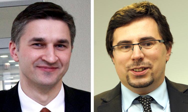 Jarosław Niewierowicz i Piotr Hajdecki  Fot. Marian Paluszkiewicz