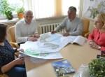 Podczas spotkania omówiono możliwości realizacji wspólnych projektów ekologicznych i społecznych Fot.vrsa.lt