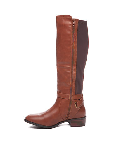 Cognac and Brown Boot