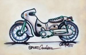 Sketsa Cole Foster Challenge KUSTOMFEST 2014 - ZENEOS
