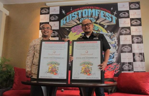 Penandatangan Kerjasama Official Hotel KUSTOMFEST 2015 - Jambuluwuk Malioboro Boutique Hotel #2