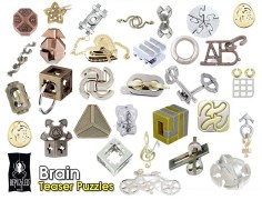 Brain Teaser Puzzles at Fenteg ألغاز بظل هاناياما متوفرة بفنتج