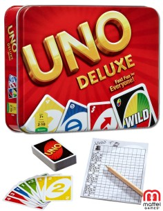 UNO Card Game Tin🃏لعبة أونو كارد تن