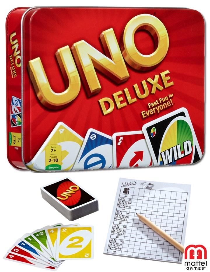 UNO Card Game Tin🃏لعبة أونو كارد تن