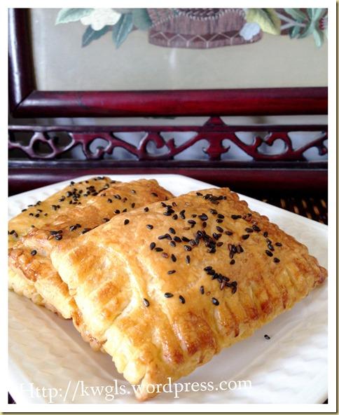 Roti Pratha Sausage Rolls (香肠脆卷)