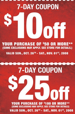 SportsAuthority $10off, $25off coupons expire November 1st ...