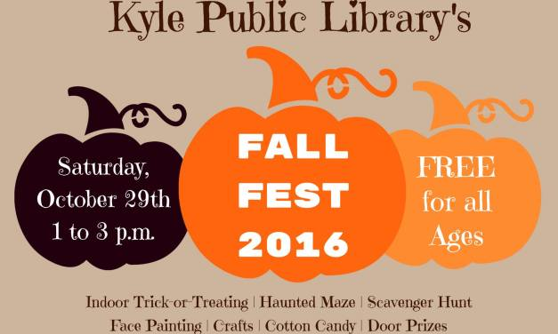 Kyle Public Library's Inaugural Fall Fest 2016