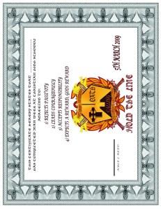man-certificate