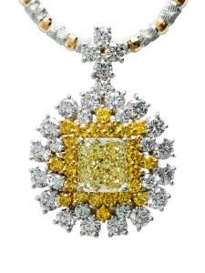 Diamond jewellery dreamtime yellow diamond pendant at196 mozeypictures Images