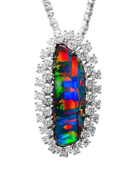 Boulder opal pendantbrooch bc6230 dreamtime boulder opal pendantbrooch bc6230 mozeypictures Choice Image