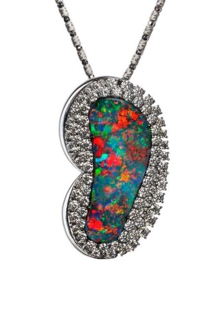 Boulder Opal Pendant/Brooch