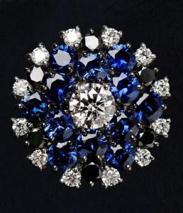 Diamond & Sapphire Ring BC4531