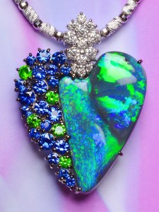 Black Opal Pendant TR0001
