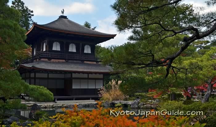 Ginkaku-ji pond and garden