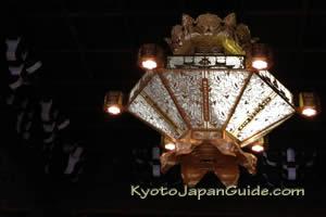 Nishi Hongwanji chandelier