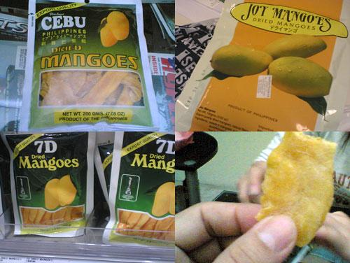 Dried Mango From Cebu, Phillipines