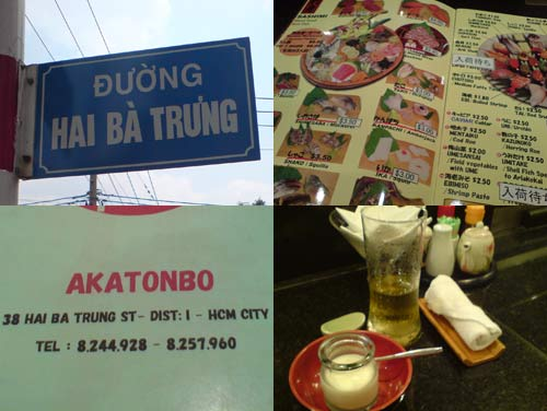 Angler Fish Liver, Akatonbo Restaurant, Ho Chi Minh City, Vietnam