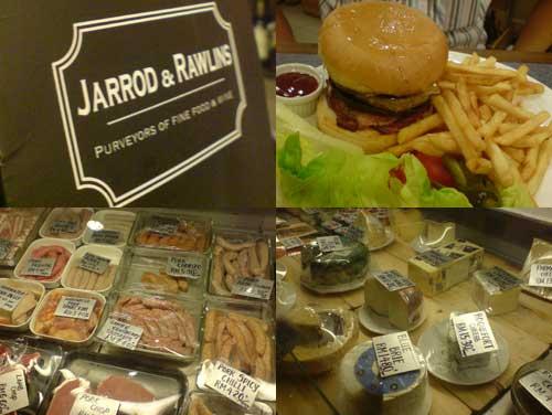 Jarrod & Rawlins, awesome pork sausage and burger at Sri Hartamas