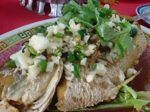 Lucky Loke garlic fish