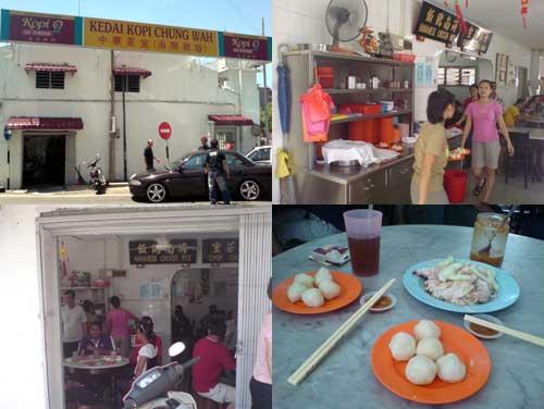 Chicken Rice Ball at Melaka, Chung Wah restaurant