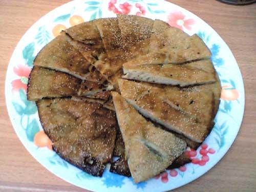 pancake with poppy seeds