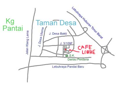 Cafe Libre Happy event