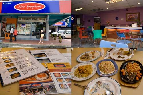 Lisa Spaghetti at Subang Jaya