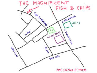 map of Changkat Bukit Bintang