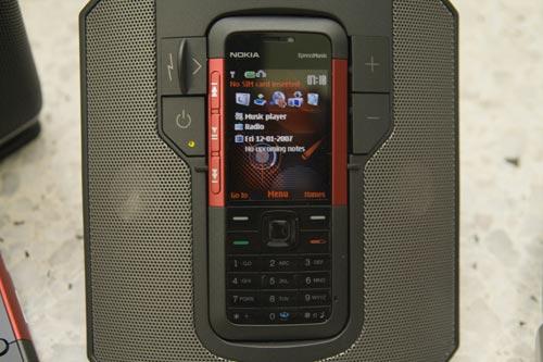 nokia xpressmusic 5610 5310, JBL portable sound station