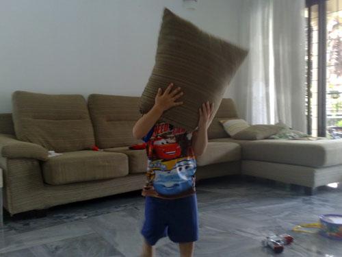 Ryan pillow head