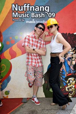 KY and Kimberly at Nuffnang Party
