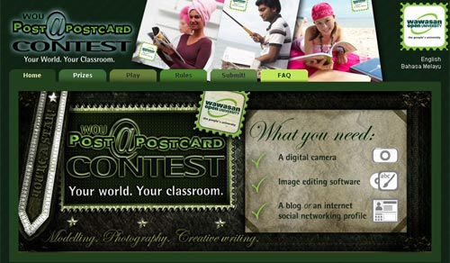 WOU Postcard Contest