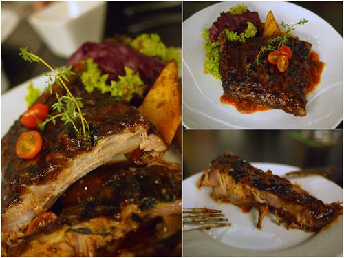 BeerBQ pork ribs