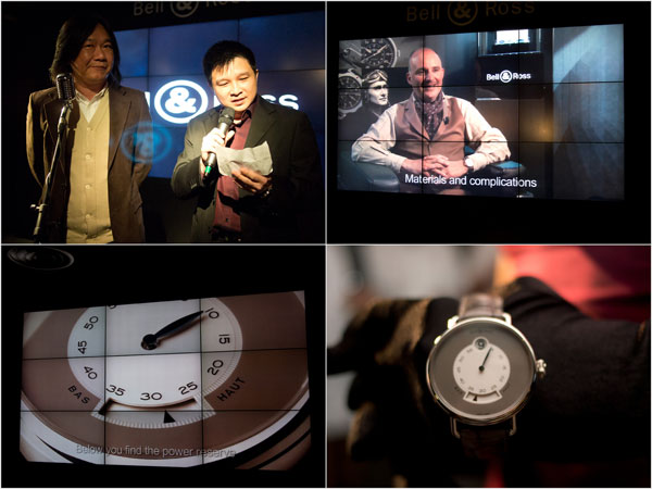Mr. Tong Chee Wei (GM, FJ Benjamin Luxury Timepieces) & Mr. SK Teh (GM Cortina Watch)