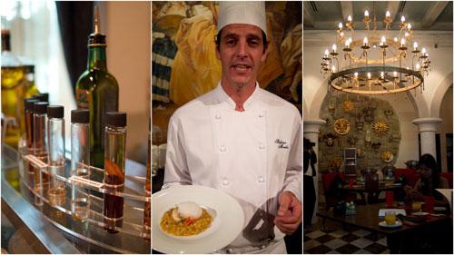 Chef Stefano Merlo at Favola, Le Meridien KL