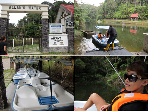 boating at Allan's water for.. RM 6
