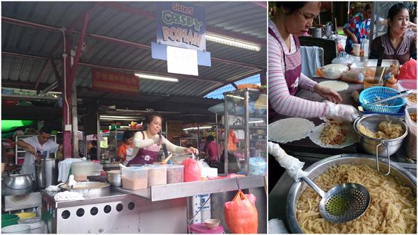the pohpiah stall at Imbi market