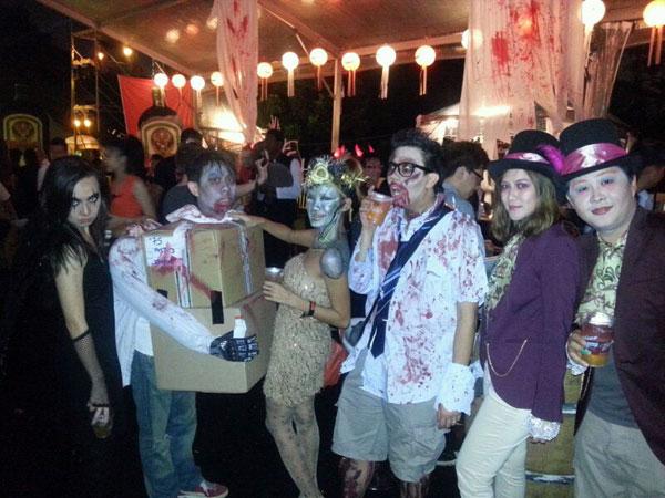 we partied hard! Ee Laine, KY, Haze, Michael, Elle, Fooi