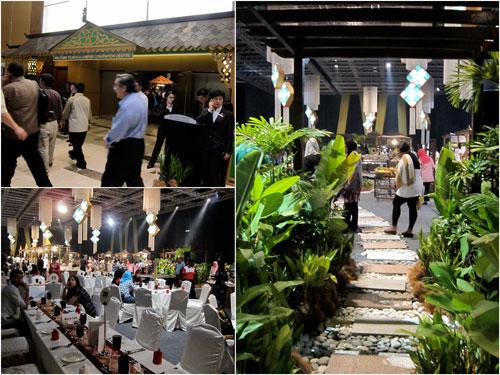 Buka Puasa at KLCC convention centre