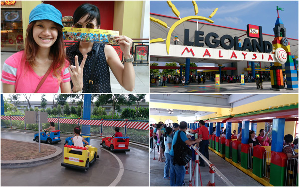 we got our tickets, here we go, LEGOLAND!