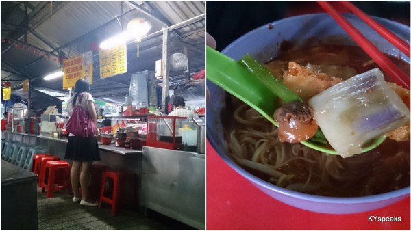 curry mee stall at Madras Lane, Petaling Street